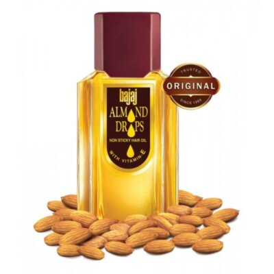 Bajaj Almond Drops Non Sticky Hair Oil with Vitamin E 100 ml