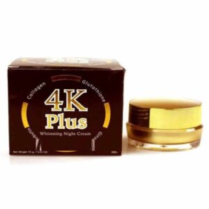 4K Plus Whitening Night Cream Made in Thailand 15 gm
