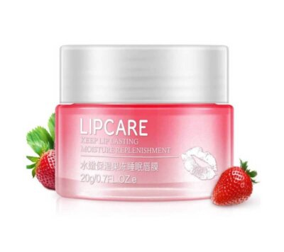 BIOAQUA Strawberry Lip Sleeping Mask Exfoliator lip balm 20g (China)