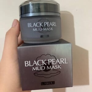 Laikou Black Pearl Whitening Mud Mask in Bd