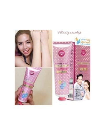 Cathy Doll SPF 50 Whitening Sunscreen L-glutathione Magic Cream price in bd