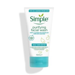 simple daily detox purifying face wash price